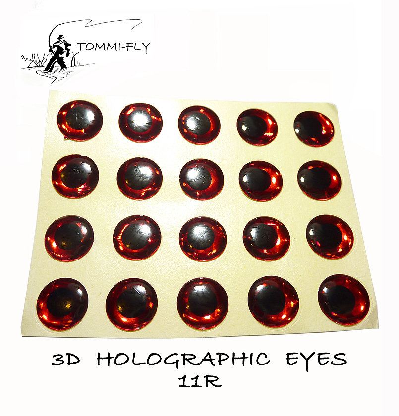 Holographic Eyes - Red