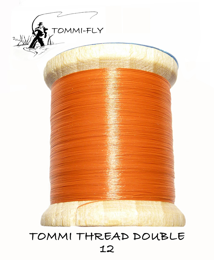 TOMMI THREAD DOUBLE - Red Brown