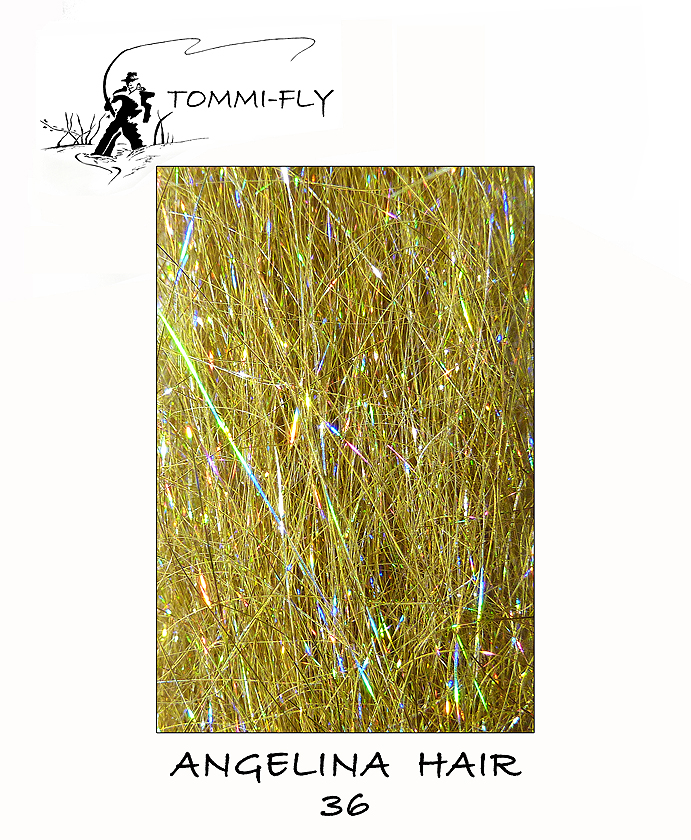 ANGELINA HAIR - Holographic Gold