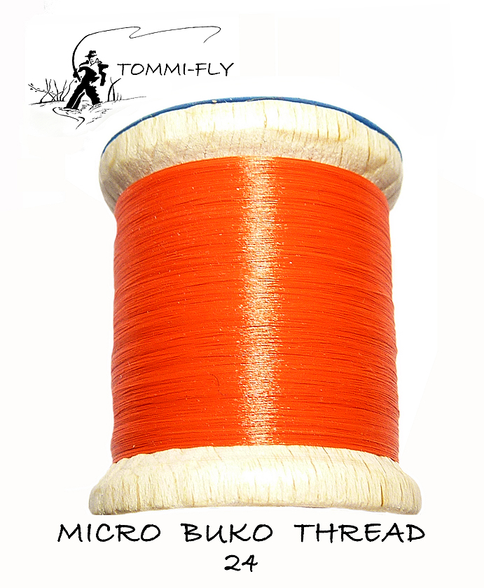 MICRO BUKO THREAD - Neon Red