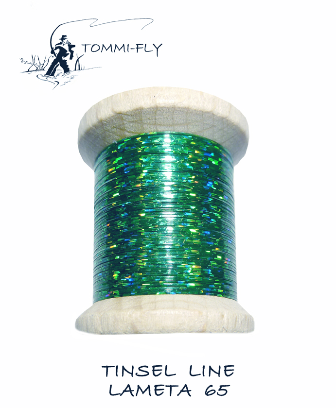 Holographic Tinsel - Dark Green