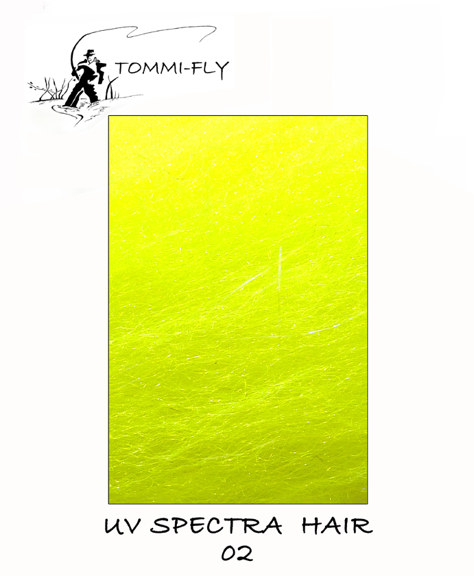 UV Spectra hair - Fluo Yellow
