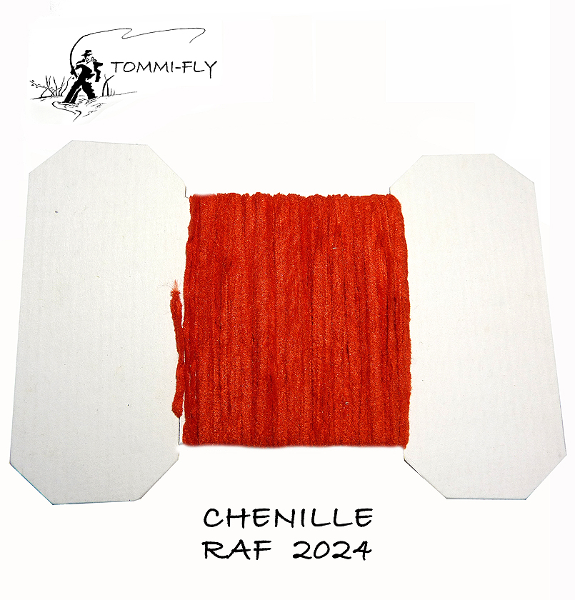 RAF CHENILLE - Rose Red