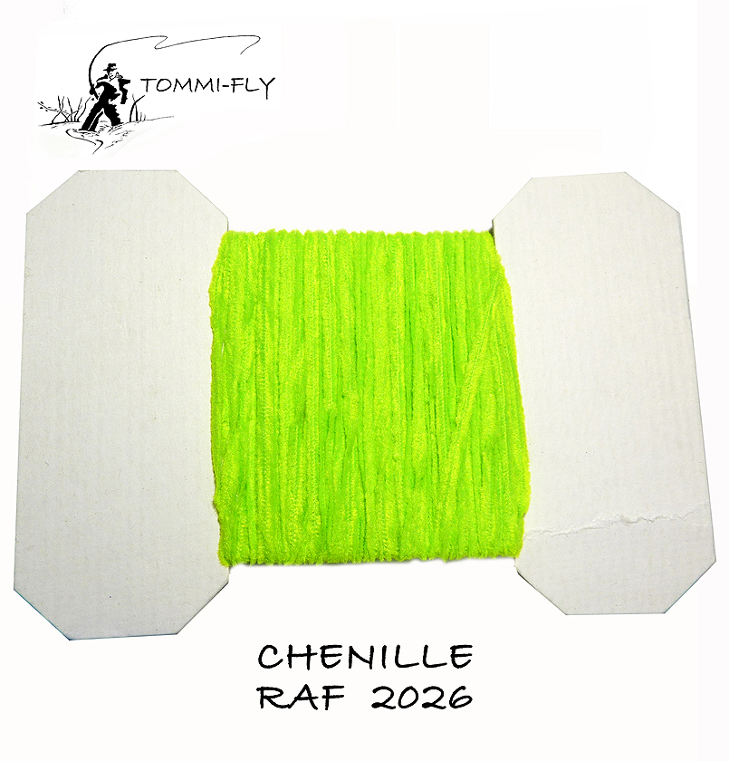 RAF CHENILLE - Fluo Green