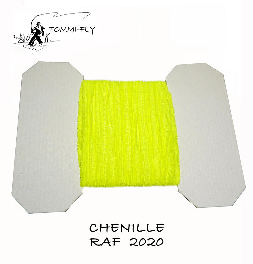 RAF CHENILLE - Fluo Yellow