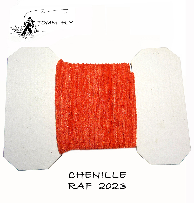 RAF CHENILLE - Light Red