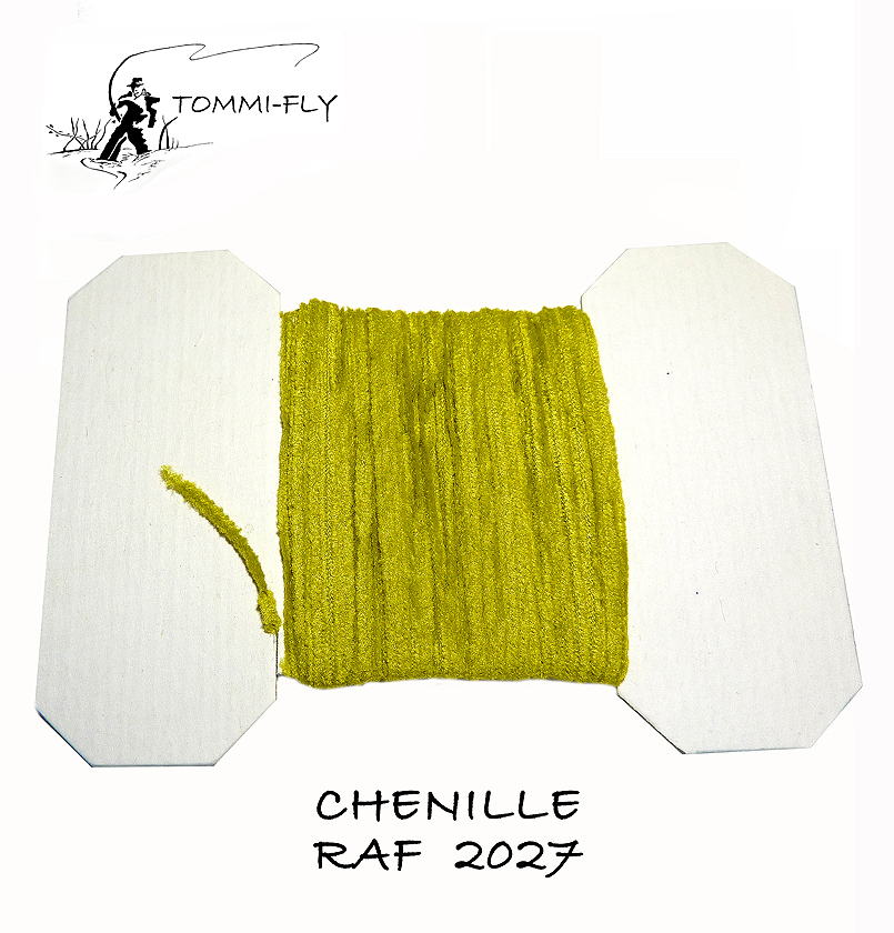 RAF CHENILLE - Olive