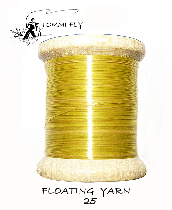 FLOATING THREAD - Gold Olive