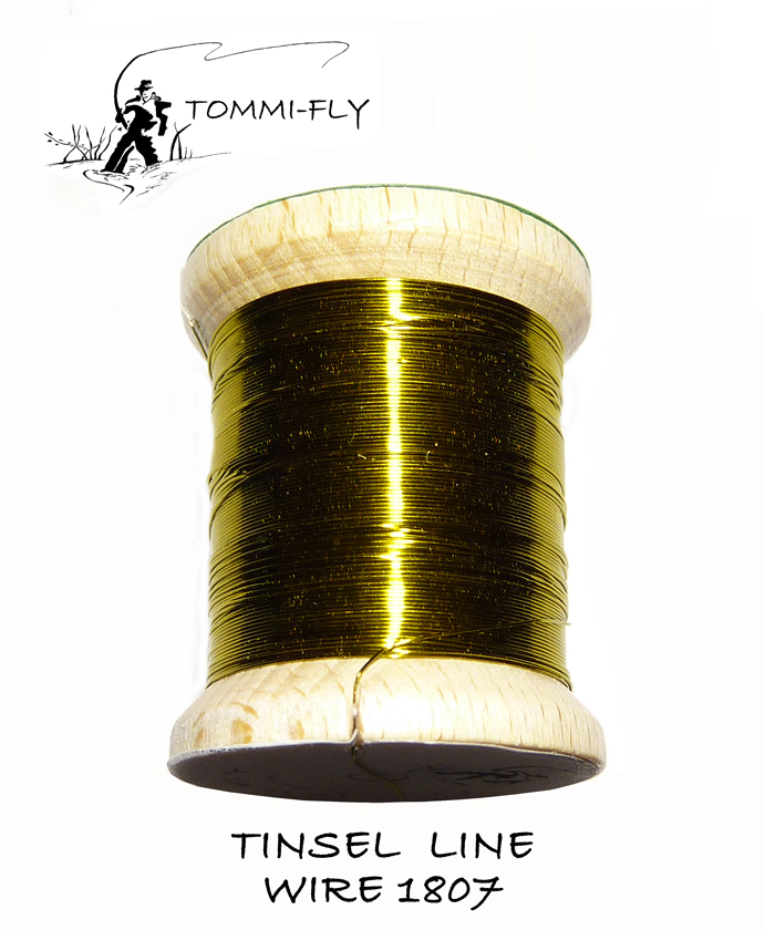 TINSEL LINE WIRE - Olive