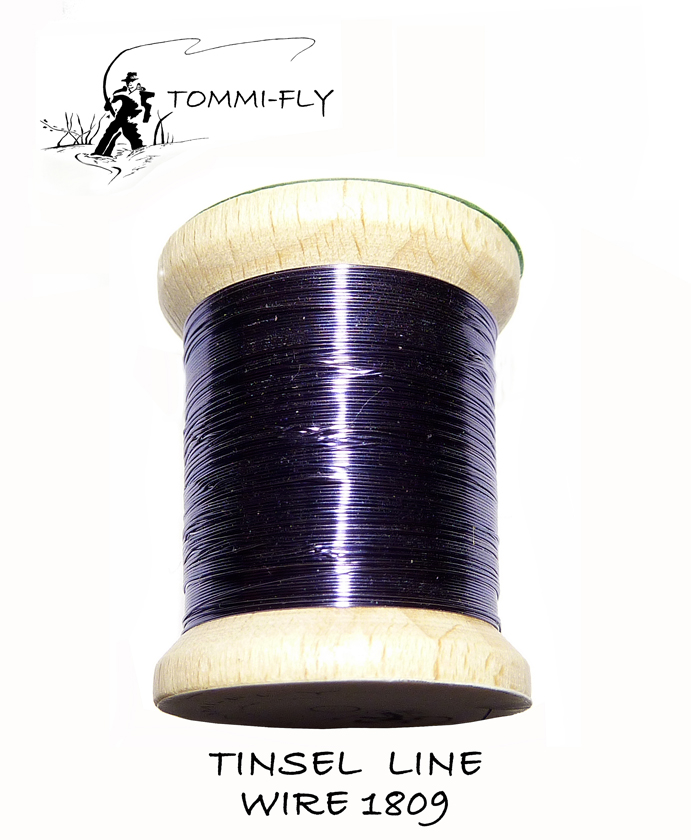 TINSEL LINE WIRE - Grey