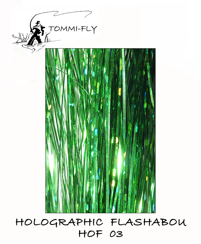 HOLOGRAPHIC FLASHABOU - Green