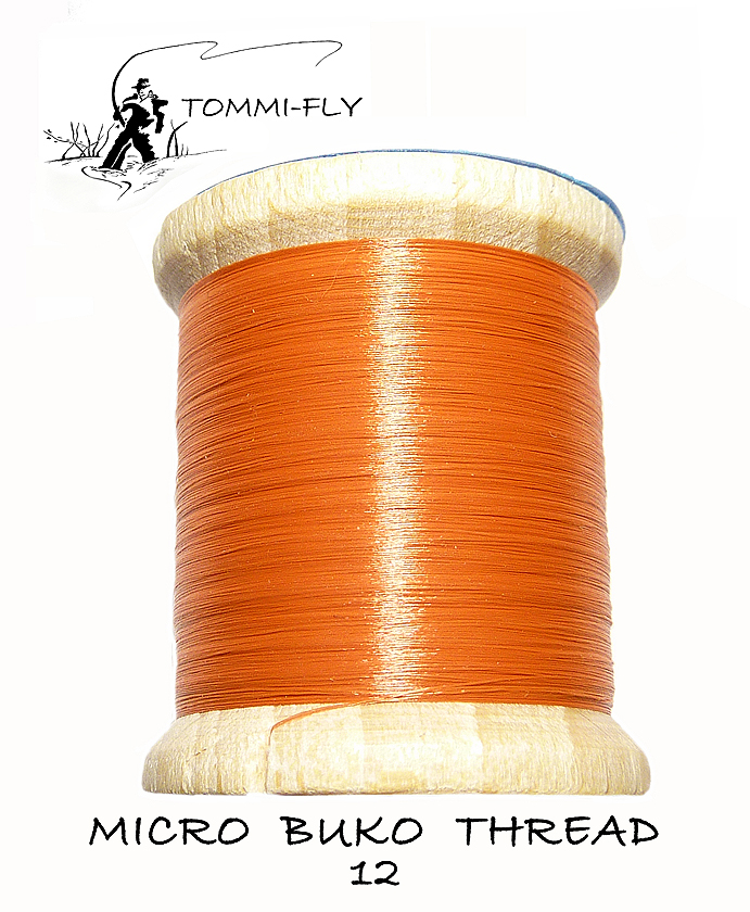 MICRO BUKO THREAD - Red Brown
