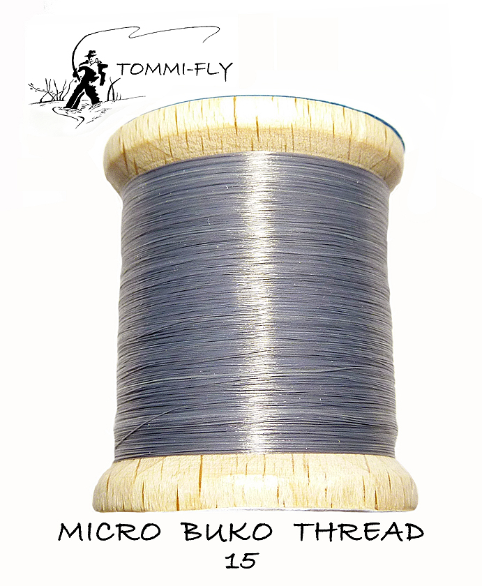 MICRO BUKO THREAD - Dark Grey