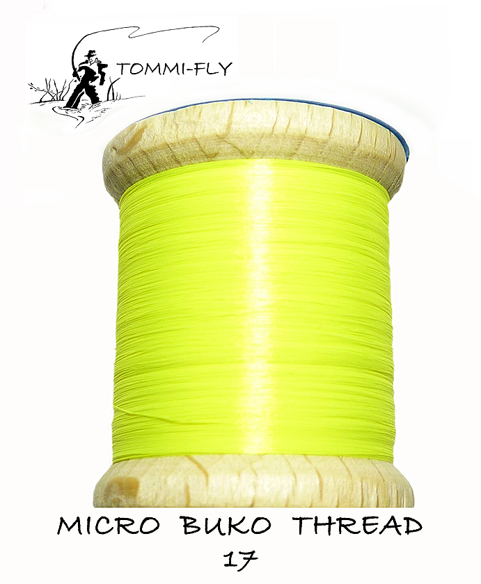 MICRO BUKO THREAD - Fluo Yellow
