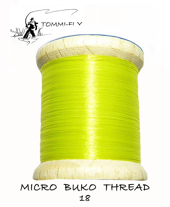 MICRO BUKO THREAD - Yellow Green