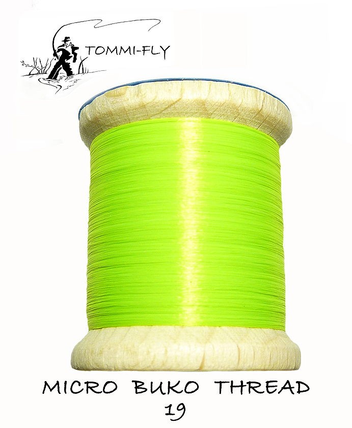 MICRO BUKO THREAD - Fluo Green