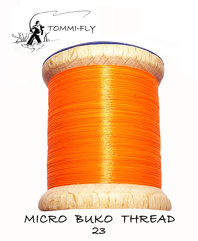 MICRO BUKO THREAD - Fluo Orange