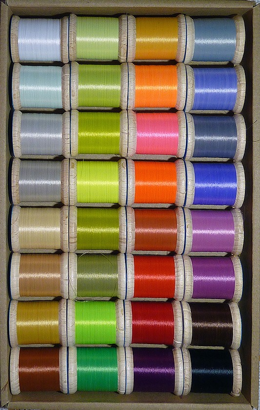 MICRO BUKO THREAD - set 32 colors