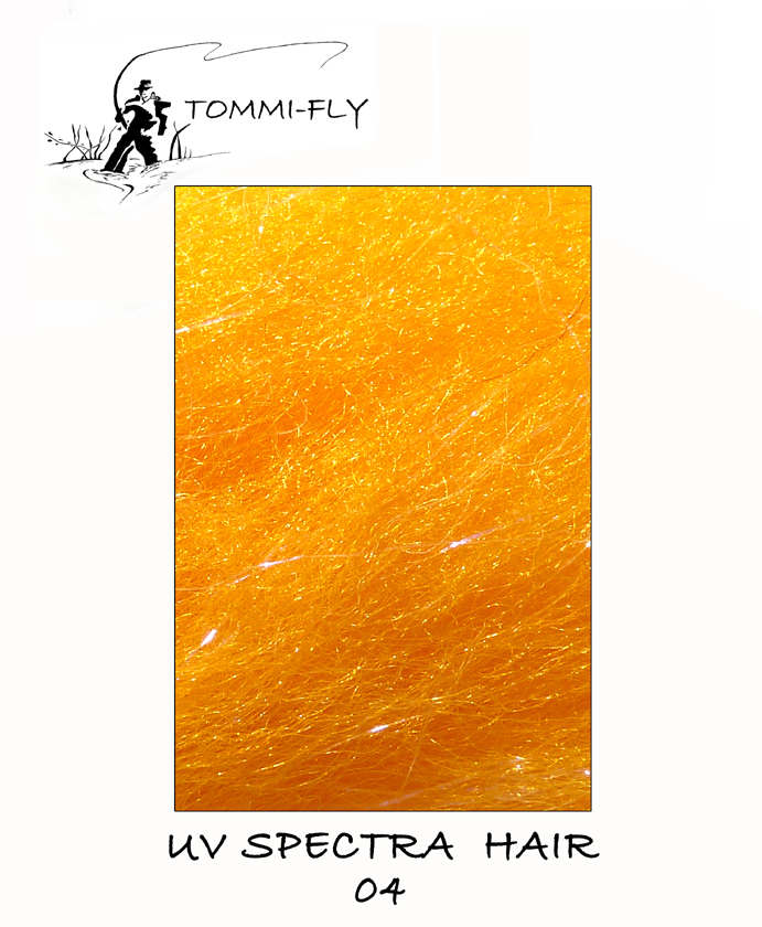 UV Spectra hair - Orange