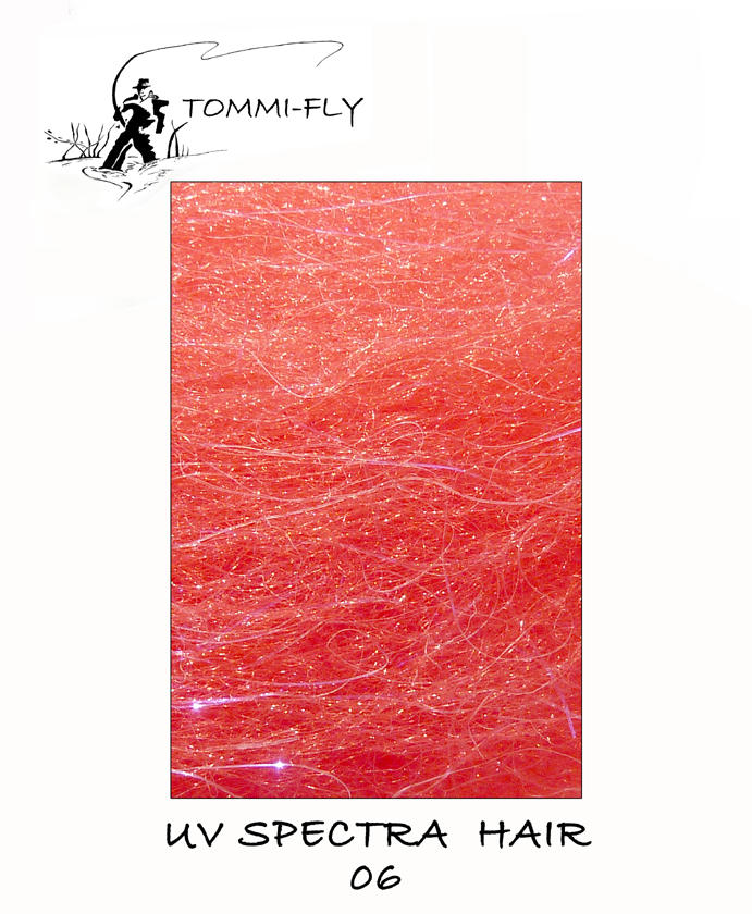 UV Spectra hair - Red