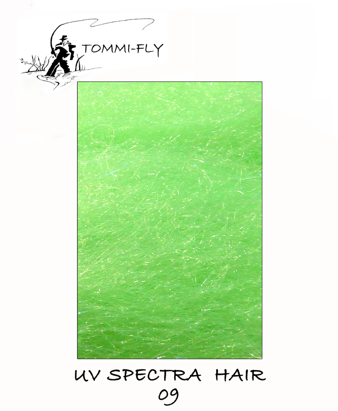 UV Spectra hair - Fluo Green