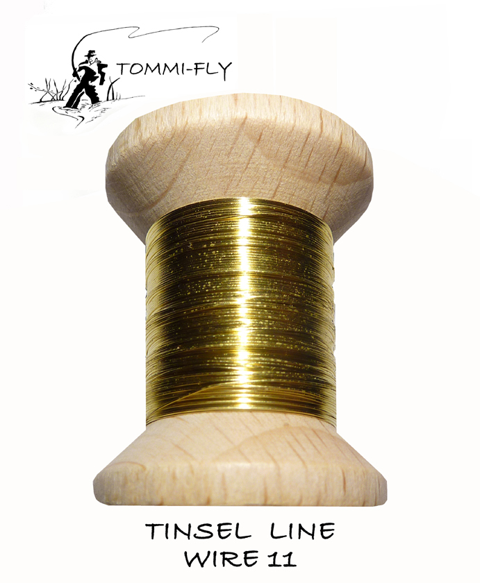 TINSEL LINE WIRE - Gold