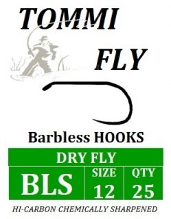 FLY HOOKS DRY FLY STRONGER, size 10 - 20